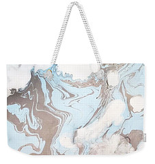 Just Sit And Watch The Rising Clouds Weekender Tote Bag