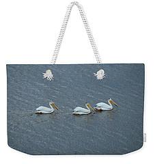 Triple Pelicans Lake John Swa Co Weekender Tote Bag