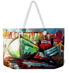 Just The Colors Weekender Tote Bag