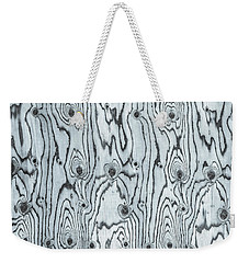 Just The Right Warp And Woof Weekender Tote Bag