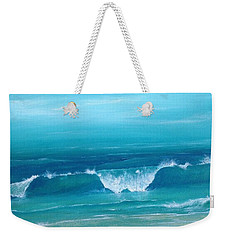Just Waving Weekender Tote Bag