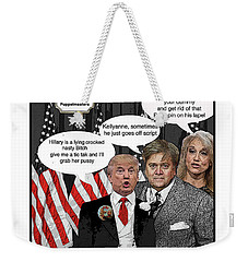 Chapter 1 Just When We Thought Weekender Tote Bag by Joe  Palermo
