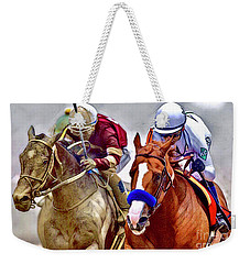 Justify In The Lead Weekender Tote Bag