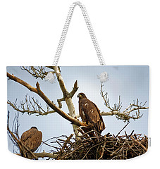 Juvenile Eagles Weekender Tote Bag