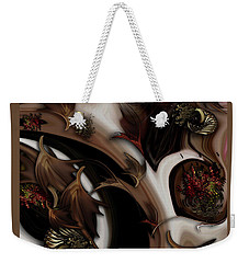 Juxtaposed Nature Weekender Tote Bag
