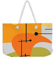 Juxtaposing Thoughts Weekender Tote Bag