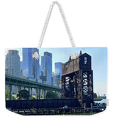Juxtaposition Weekender Tote Bag