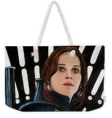 Jyn Erso Weekender Tote Bag by Tom Carlton
