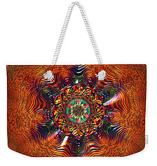 Jyoti Ahau 177 Weekender Tote Bag by Robert Thalmeier