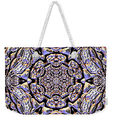 Weekender Tote Bag featuring the digital art Jyoti Ahau 181 by Robert Thalmeier