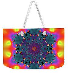 Weekender Tote Bag featuring the digital art Jyoti Ahau 194 by Robert Thalmeier
