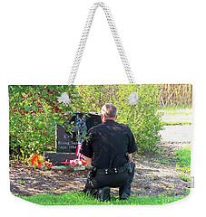 K-9 Arthur Weekender Tote Bag