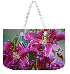 K And D Lilly 4 Weekender Tote Bag