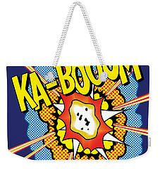Kabooom Weekender Tote Bag