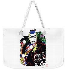 Kabuki Nanbawan Weekender Tote Bag by Roberto Prusso