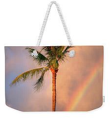 Kahekili Beach Park Rainbow Palm Weekender Tote Bag