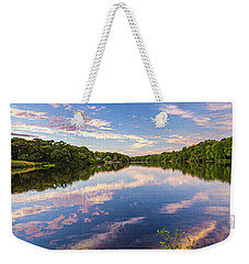 Kahler's Pond Clouds Weekender Tote Bag