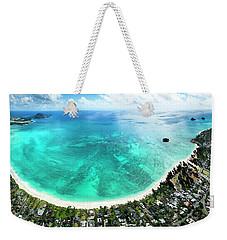 Kailua - Lanikai Overview Weekender Tote Bag
