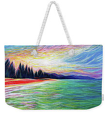 Kailua Surreal Weekender Tote Bag