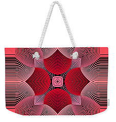 Weekender Tote Bag featuring the digital art Kal - 36c77 by Variance Collections