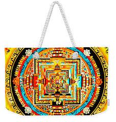 Kalachakra Mandala Weekender Tote Bag