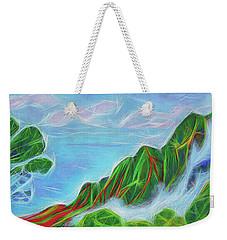 Kalalau Mists Weekender Tote Bag