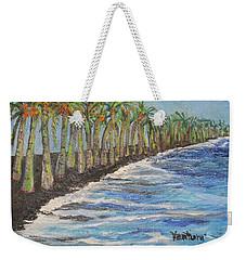 Kalapana Beach Weekender Tote Bag