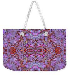 Kaleid Abstract Focus Weekender Tote Bag
