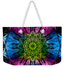 Kaleidoscope - Colorful Weekender Tote Bag
