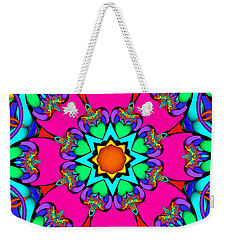 Kaleidoscope Flower 03 Weekender Tote Bag