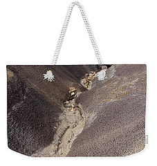 Weekender Tote Bag featuring the photograph Kaleidoscope Landscape by Melany Sarafis