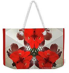 Kaleidoscope Mirror Effect M1 Weekender Tote Bag