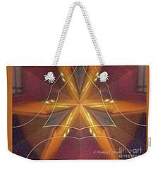 Kaleidoscope Mirror Effect M7 Weekender Tote Bag