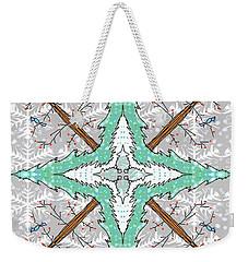 Kaleidoscope Of Winter Trees Weekender Tote Bag