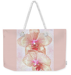 Kaleidoscope Orchid  Weekender Tote Bag by Jane Schnetlage