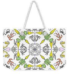 Kaleidoscope Rabbits Weekender Tote Bag