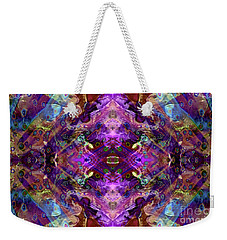 Kaleidoscope Weekender Tote Bag by Tlynn Brentnall