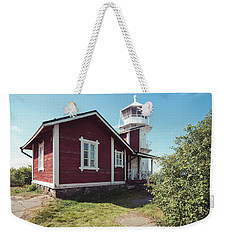 Weekender Tote Bag featuring the photograph Kallo Lighthouse by Ari Salmela