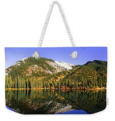 Kananaskis - Autumn Reflections 2 Weekender Tote Bag by Stuart Turnbull