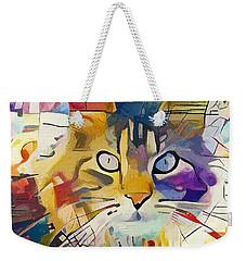 Kandinsky Cat Weekender Tote Bag