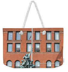 Kane County Courthouse Weekender Tote Bag by David Bearden