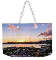 Kaneohe Bay Sunrise 1 Weekender Tote Bag