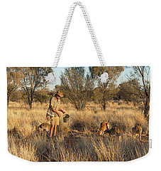 Kangaroo Sanctuary Weekender Tote Bag