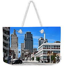 Kansas City Cross Roads Weekender Tote Bag