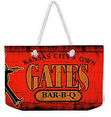 Kansas City's Own Gates Bar-b-q Weekender Tote Bag