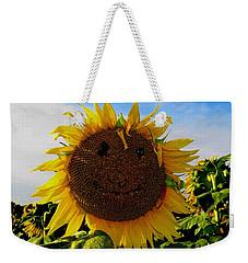 Kansas Sunflower Weekender Tote Bag