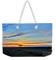 Kansas Sunrise1 Weekender Tote Bag