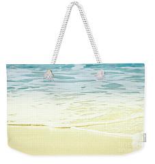 Weekender Tote Bag featuring the photograph Kapalua Beach Dream Colours Sparkling Golden Sand Seafoam Maui by Sharon Mau