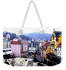 Weekender Tote Bag featuring the photograph Karlovy Vary Cz by Michelle Dallocchio