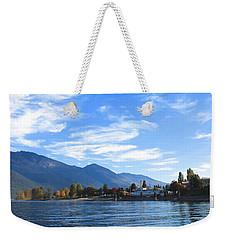 Kaslo Weekender Tote Bag by Cathie Douglas